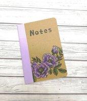 NOTES ramo di fiori lilla