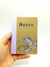 NOTES unicorno lilla