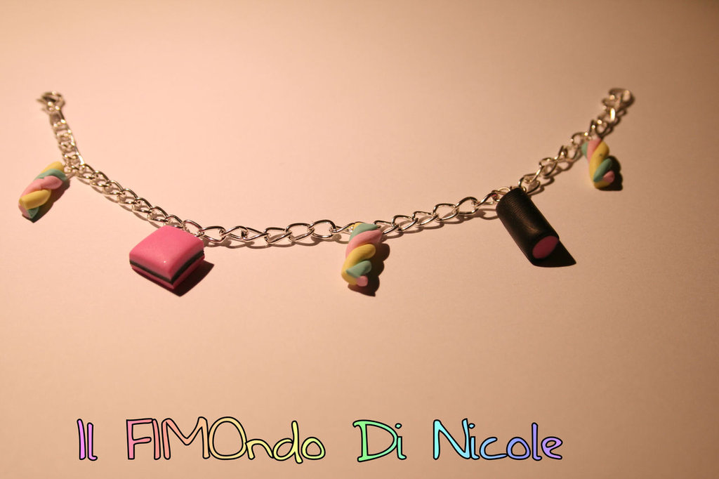 Bracciale collezione sweetnesses - Sweetnesses collection bracelet - Fimo