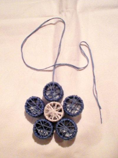 collana fiore di cotone (n°580)