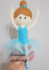 Ballerina bambola feltro