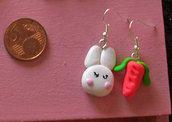 orecchini Chi ha rubato la carota?