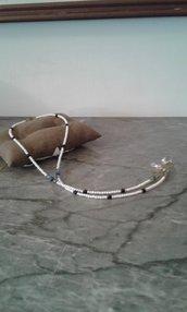 Catenella portaocchiali con perline- Frida
