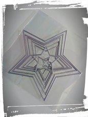 fustella stella 8 misure per creazioni fai da te scrapbooking