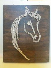 Profilo stilizzato del cavallo
