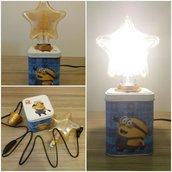 Lampada Minions per bambini