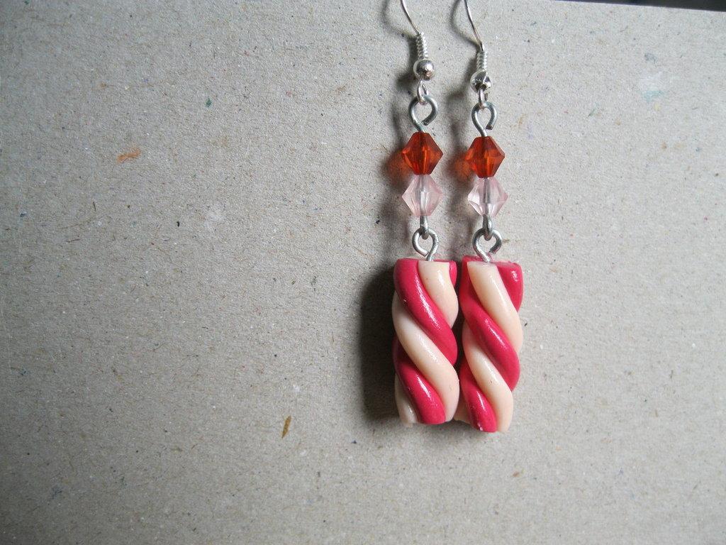Marshmallow earrings