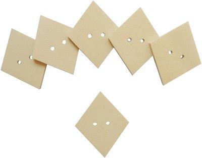 Bottoni Il Legno a Forma di rombo per Il Fai da Te 24 PZ