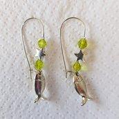 orecchini pesciolini e stelle 2