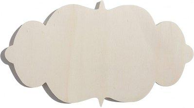 Targhetta in legno old style per hobby creativi 2pz