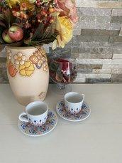 Tazzine di ceramica dipinte a mano con mandala