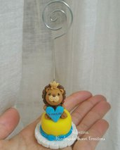 Mini cake leone leoncino fimo
