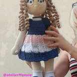 Baby Doll Amigurumi