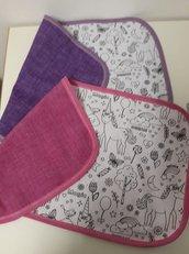 tovaglietta magica.. colora e ricolora tessuto magico lavabile bimbi felici