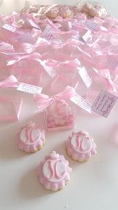 Sweet table - scatolina porta biscotto - scatolina con biscotto decorato