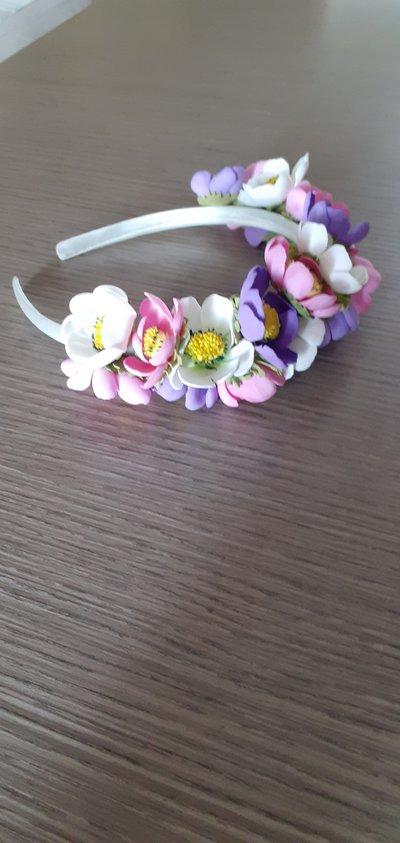 Cerchietto tanti fiori