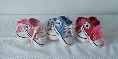 Scarpe da tennis per neonati tipo Converse all star