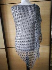Scialle Donna Crochet Moda Estate