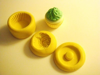 Stampo fimo muffin