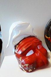 Maschera pulcinella moderna