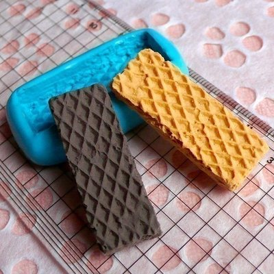 Stampo fimo wafer