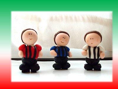 Mini calciatori- squadra calcio- Juve Inter Milan