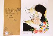 ritratto di coppia, ritratto fidanzamento, ritratto cartoon, ritratto digitale da foto,idea regalo per anniversario, regalo per lei, regalo per lui