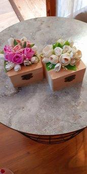 Bomboniere con fiori