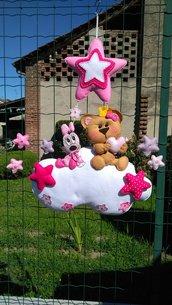 Fiocco nascita...Minnie e la tenera orsacchiotta