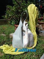 KIMONO BAG SOFY in tessuto d'arredamento fatta a mano