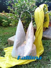 KIMONO BAG VENICE in tessuto d'arredamento fatta a mano