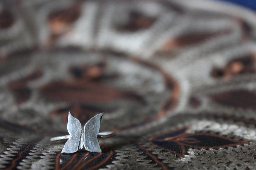 Anello in Argento | Farfalla | Chrysalism