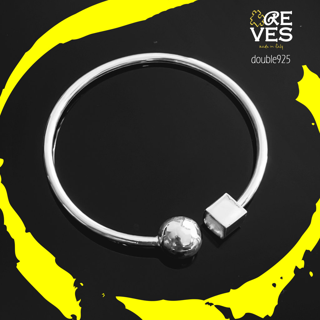DOUBLE 925 - BRACCIALE IN ARGENTO 925 MADE IN ITALY