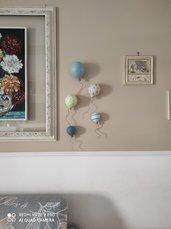 5 palloncini in ceramica