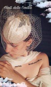 Veletta sposa - damigella - decoro capelli