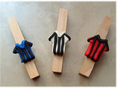 Molletta maglia squadra calcio- Juventus Milan Inter
