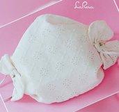 Mascherina in cotone lavabile particolare