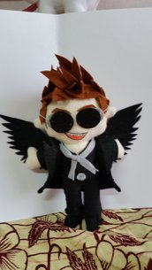 Peluche ispirato a  Crowley- Good Omens