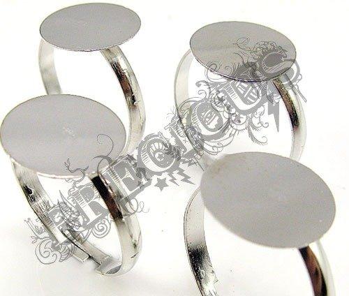 Base per anello piatta