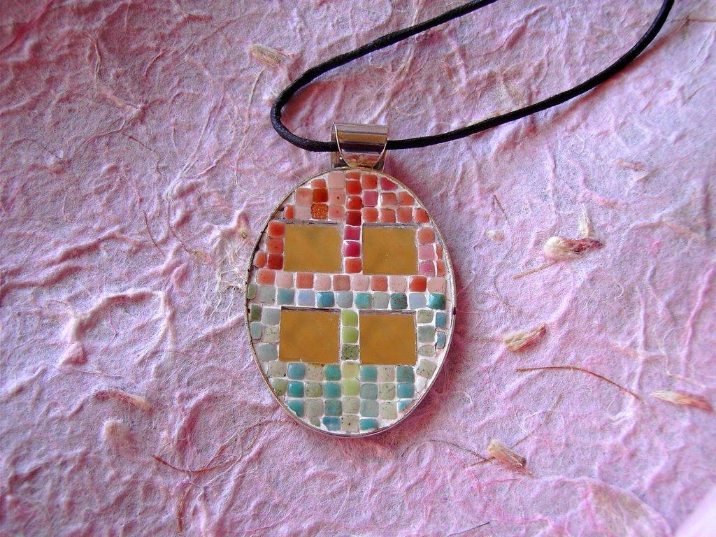 Ciondolo Mosaico 4 specchi