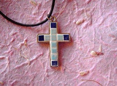Croce Mosaico/Ciondolo