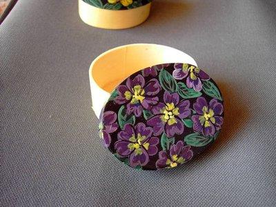 Fiori in scatola/Viola
