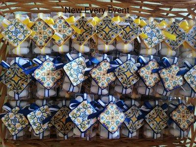 maioliche in stile siciliano