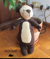 Orso amico di Masha (Amigurumi)