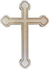 Colorcoop Croce in Legno Multistrato Betulla 28 cm