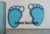 Fustellati piedini gomma crepla cartoncino