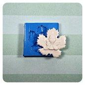 Stampo in silicone Prima Comunione foglia di vite con simboli Prima Comunione per bomboniere