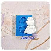 Stampo in silicone Prima Comunione coppa con simboli Prima Comunione per bomboniere