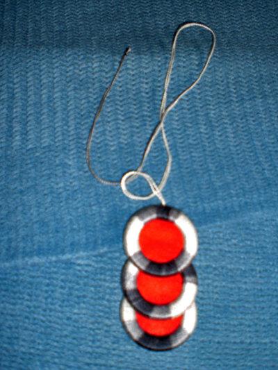 collana con ciondolo di cotone (n°599)