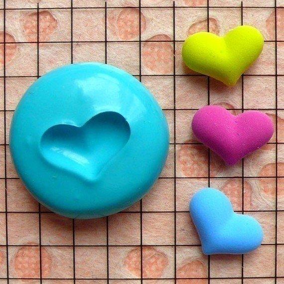 Stampo fimo cuore 13 mm